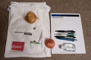 SharePoint Saturday St. Louis 2012 Swag