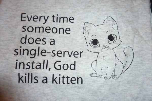 Axceler SharePoint Kitten Shirt