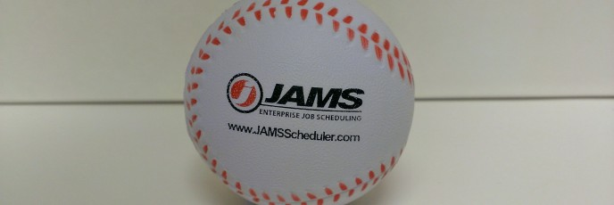 JAMS Scheduler Foam Baseball - 2013 105/365
