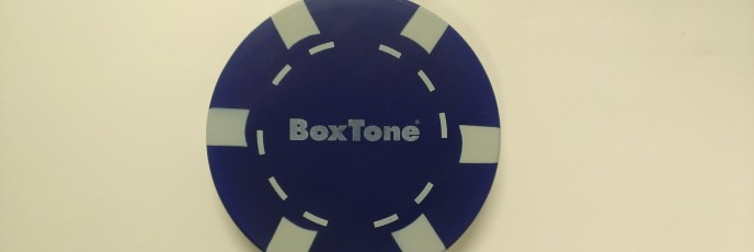 BoxTone Stress Relief Poker Chip - 2013 115/365