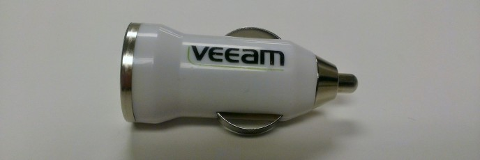 Veeam USB Charger for Car - 2013 120/365