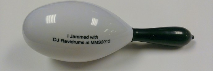 MMS 2013 Party Light-Up Maraca - 2013 122/365