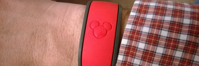 MagicBand on My Wrist