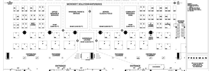 TechEd 2014 Expo Floorplan