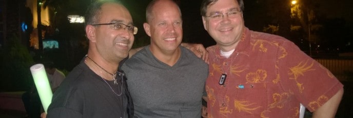 Our Photo with Brad Anderson