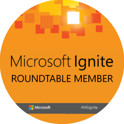 Ignite 2015Roundtable Bling