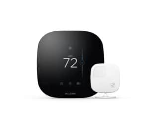 ecobee3 Smart Thermostat and Remote Sensor (photo courtesy of ecobee)