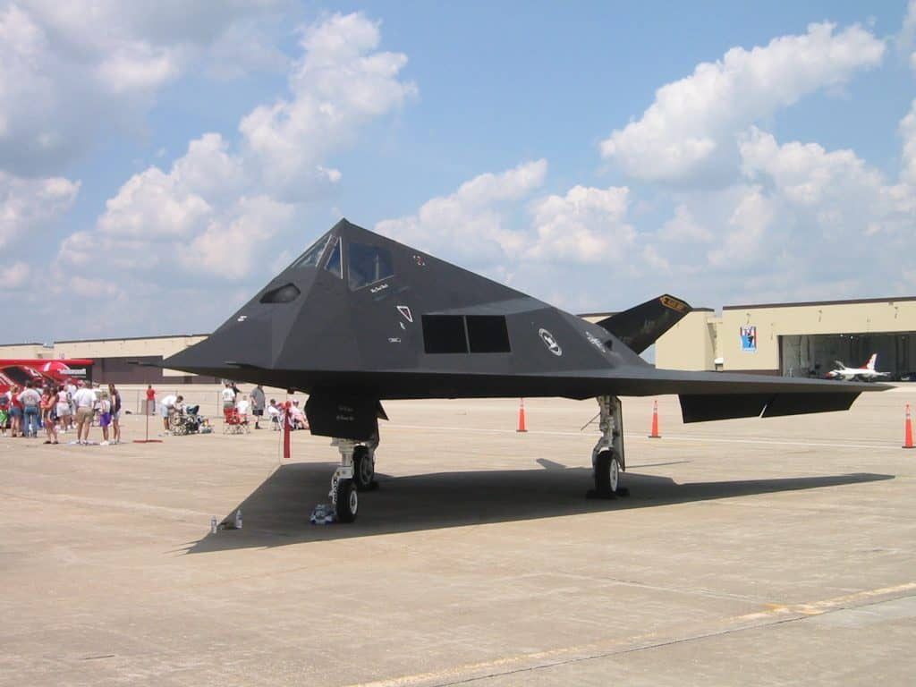 F-117A at Whiteman