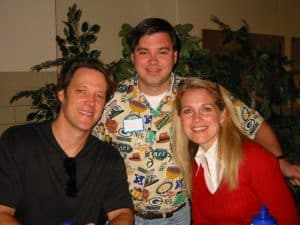 Matthew Ashford, Missy Reeves, and Me