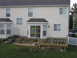 Deck Construction Progress