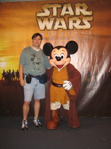 Jedi Mickey and Me