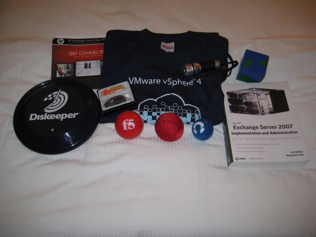 TechEd 2009, Day 3 - Swag