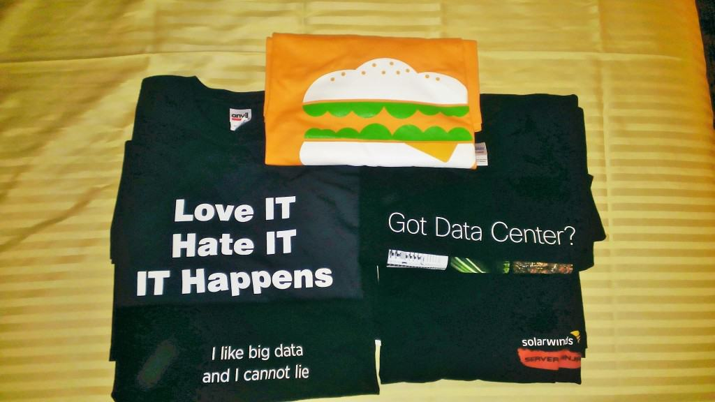 MMS 2013 Day 1 Swag T-shirts