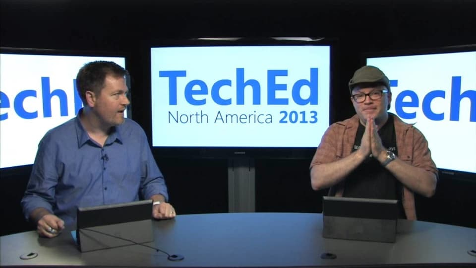 TechEd 2013 Countdown Show Ep. 7