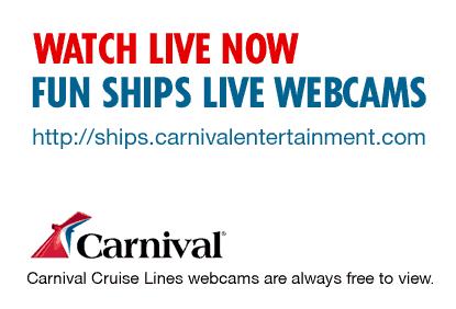 Carnival Webcam - After