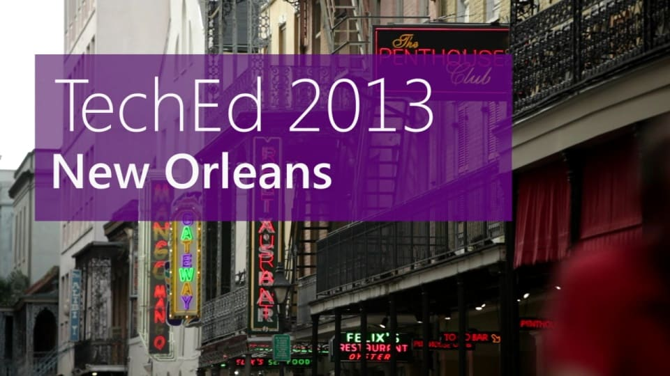 TechEd and The Krewe