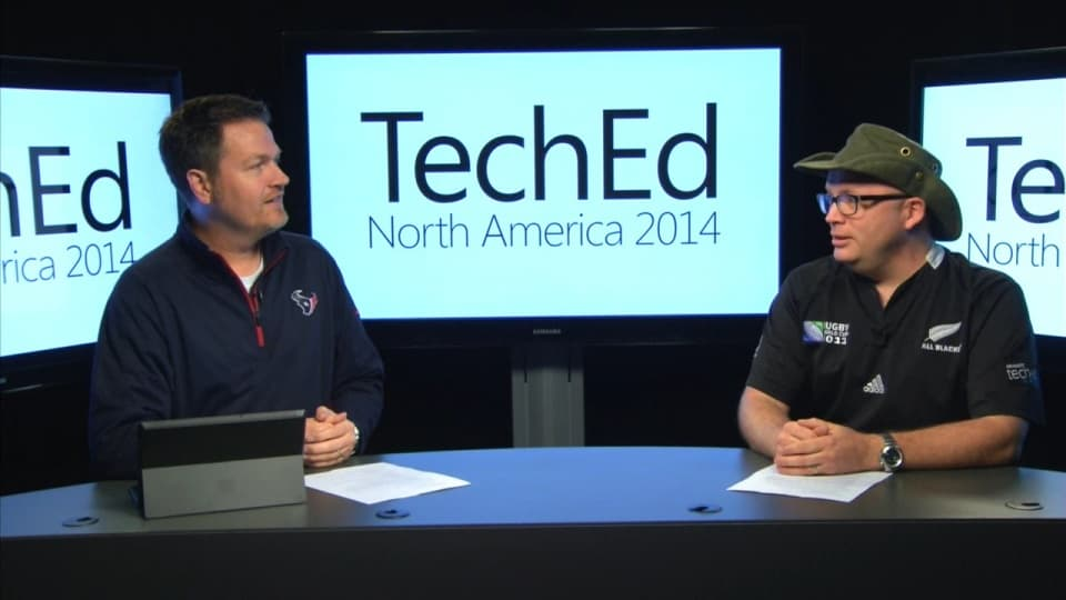TechEd 2014 Countdown Show Episode 1