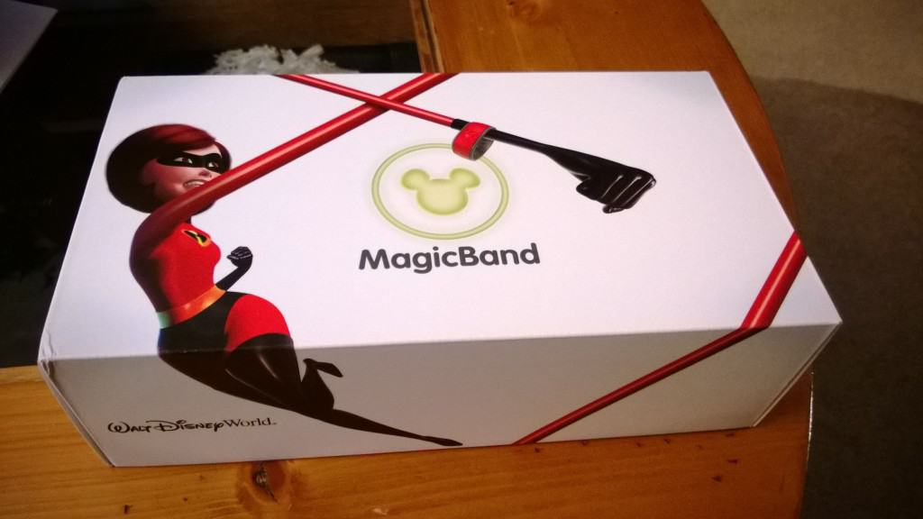 DIsney MagicBand Box