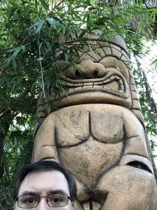 Me and the 50 Foot Tiki at the Mai Kai