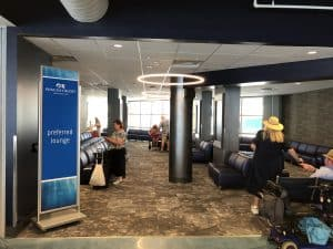 Princess Cruises Preferred Lounge