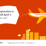 Microsoft Ignite 2018 Early Registration