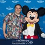 Me and Mickey at the 2019 shareholders meeting