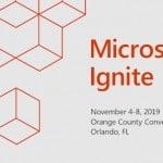 Microsoft Ignite 2019 banner